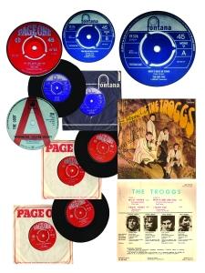 Page Troggs records